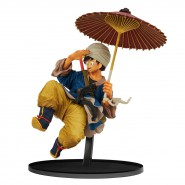 Figure 18cm SON GOKU Gokou UMBRELLA Version COLOR World Figure Colosseum BWFC II Vol 5 Banpresto Dragon Ball