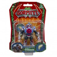 GORMITI Action Figure ULTRA TYPHON Posable 8cm Original Giochi Preziosi