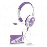 MIRACLE TUNES Headphones VIOLET and Portable AMPLIFIER Original GIOCHI PREZIOSI