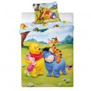 Bed Set BABY Size WINNIE POOH Eeyore Pimpi Tiger DUVET COVER 100x135 Cotton