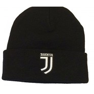 CHILD SIZE - Winter HAT Beanie BLACK Original JUVENTUS New Logo JJ Official