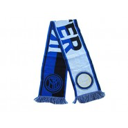 SCARF Original INTER Internazionale FC Model BIG LINES Official JACQUARD 140cm