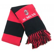 SCARF Double TUBOLAR Original AC MILAN Football Club Official JACQUARD