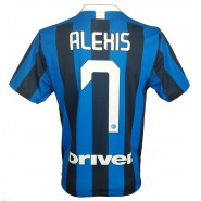 ALEXIS SANCHEZ Number 7 T-Shirt Soccer Jersey F.C. INTER Internazionale 2019/2020 Official Replica