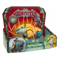 GORMITI Figure Hyperbeasts Deluxe CRYOS and IKOR 15cm with LIGHT and SOUNDS Original Giochi Preziosi