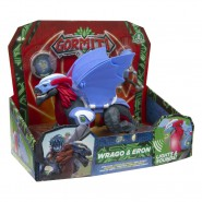 GORMITI Figure Hyperbeasts Deluxe WRAGO and ERON 15cm with LIGHT and SOUNDS Original Giochi Preziosi