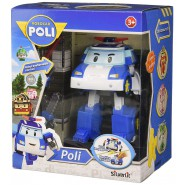 POLI Robot Tranformer WITH LIGHTS from ROBOCAR POLI 12cm Original