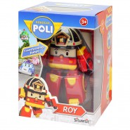 ROY Robot Tranformer 10cm from ROBOCAR POLI Original