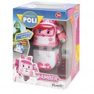 AMBER Robot Tranformer 10cm from ROBOCAR POLI Original