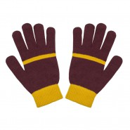 GRYFFINDOR Original GLOVES - ADULT Size OFFICIAL Warner Bros GRYFFONDOR