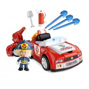 PINYPON Playset Action FIRE FIGHTER VEHICLE with FIGURE Original FAMOSA