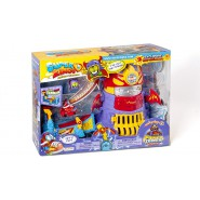 SUPERZINGS Box Playset POWER TOWER ASSAULT 2 FIGURES ORIGINAL Super Zings Rivals of Kaboom  Adventure 3