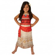 Carnival COSTUME of VAIANA Moana DELUXE Version Size SMALL 3-4 YEARS Original RUBIE'S Rubies