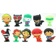 Superheroes JUSTICE LEAGUE Collection Serie 2 Set 10 FIGURES 5cm  Batman Superman Joker ORIGINAL DC Comics