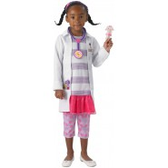 Carnival COSTUME of DOC McSTUFFINS Dottie DELUXE Version Size MEDIUM 5-7 YEARS Original RUBIE'S Rubies