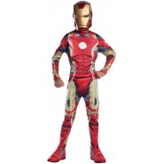 Carnival COSTUME of IRON MAN from AVENGERS 2 Size LARGE 8-10 YEARS Original RUBIE'S Rubies