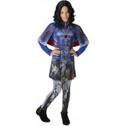 Carnival COSTUME of Evil EVIE Auradon from DESCENDANTS Disney Size LARGE 7-9 YEARS Original RUBIE'S Rubies