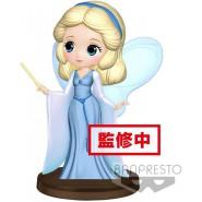Figure Statue 7cm BLUE FAIRY from PINOCCHIO Petit Qposket Banpresto DISNEY Characters