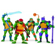 NINJA TURTLE Action Figure Posable 30cm With Accessories Mutant Original Giochi Preziosi