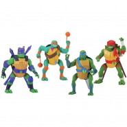 NINJA TURTLE Action Figure Posable 16cm Sounds and Moves Mutant Original Giochi Preziosi