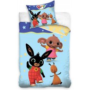 BED SET 140x200cm BING FLOP SULA Pillow Case 70x80cm 100% Cotton Original
