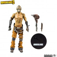 BORDERLANDS 3 Action Figure PSYCO 17cm + Accessories Original Videogame MCFARLANE