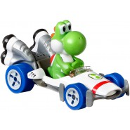 Die Cast Model YOSHI B Dasher KART From SUPER MARIO Scale 1:64 5cm Hot Wheels