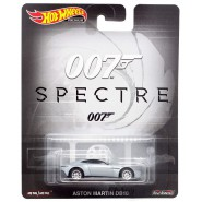 Die Cast Model ASTON MARTIN DB10 From 007 Spectre Scale 1:64 6cm HotWheels Premium Real Riders