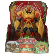 GORMITI Figure ULTRA LORD KERYON 25cm Lights and Sounds FIRE Tribe Original Giochi Preziosi