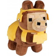 Plush 20cm LLMA Lama BROWN and YELLOW Happy Explorer MINECRAFT Original Official JINX