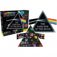 THE DARK SIDE Jigsaw PUZZLE 600 Pieces 2 in 1 Double PINK FLOYD Original Official 74x58cm