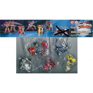 5 Figures POWER RANGERS DINO THUNDER Maxi PART 1 Bandai GASHAPON Sentai