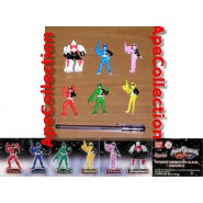 SET 6 Figures POWER RANGERS S.P.D. Mini 6cm Bandai SUPER SENTAI Gashapon