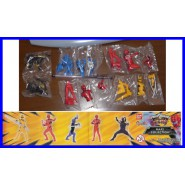 5 Figures POWER RANGERS Collection JUNGLE FURY Bandai GASHAPON Sentai