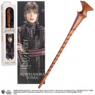 HARRY POTTER Replica NYMPHADORA TONK's MAGICAL WAND With 3D BOOMARK Original NOBLE COLLECTION NN6316