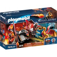Playset DRAGONS TRAINER BUNHAM  from NOVELMORE  Playmobil 70226
