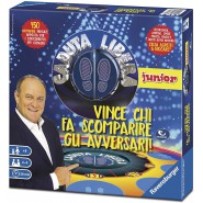 CADUTA LIBERA JUNIOR Children EDITION Canale 5 JERRY SCOTTI Board Game RAVENSBURGER