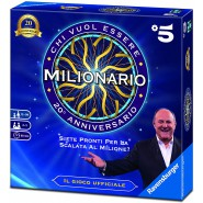 WHO WANTS TO BE A MILLIONAIRE Canale 5 JERRY SCOTTI Board Game RAVENSBURGER