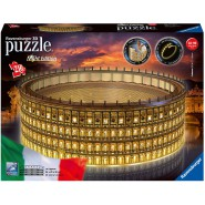 COLOSSEO Colosseum Rome Special Led NIGHT EDITION Original PUZZLE 3D 216 Pieces RAVENSBURGER