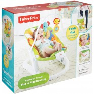 RAINFOREST Baby BOUNCER Fun 'n Fold ORIGINAL Fisher Price