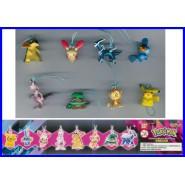 SET 8 Figures POKEMON MINI SWING Ultimate DIALGA Collection With Dangler Originai BANDAI Gashapon BLASTOISE etc.