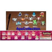 Rare SET 12 FIGURES POKEMON Advanced PART 3 Gashapon BANDAI