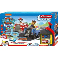 Track PAW PATROL Race and Rescue Battery CHASE MARSHALL Nickelodeon 3,5 Meters Carrera First