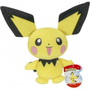 PICHU Plush 20cm Pokemon Electric Element - Serie 2 Giochi Preziosi WCT