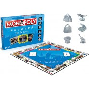 MONOPOLY Version FRIENDS Game ITALIAN Sit Com TV Serie Hasbro