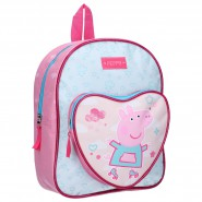 Backpack PEPPA PIG 31x25x9cm Roll With Me Rollerblade Roller ORIGINAL School Kindergarden Sport