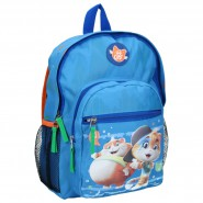 Backpack 44 Cats 34x24x14cm BLUE 2 Characters ORIGINAL School Kindergarden Sport
