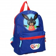 Backpack BING Open Arms 32x23x12cm BLUE Character From Cartoon ORIGINAL School Kindergarden Acamar Film