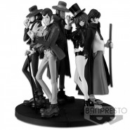 Diorama COMPLETE SET 5 Figures BLACK AND WHITE LUPIN CREATOR x CREATOR PART 5 Banpresto Japan