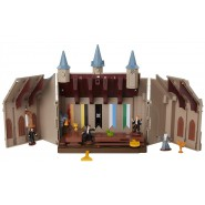 GREAT HALL Hogwarts Mini PLAYSET w/ LIGHTS and Interactive Features Original Harry Potter Warner Bros JAKKS